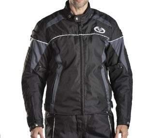 Short CORDURA motorcycle jacket.