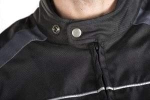 Short CORDURA® motorcycle jacket.