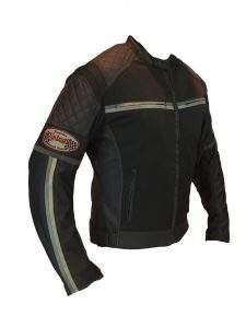 Vintage summer motorcycle jacket