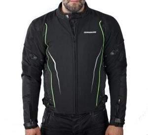 chaqueta de moto corta