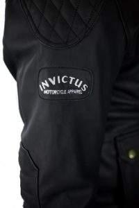 three-quarters leather motorcycle jacket