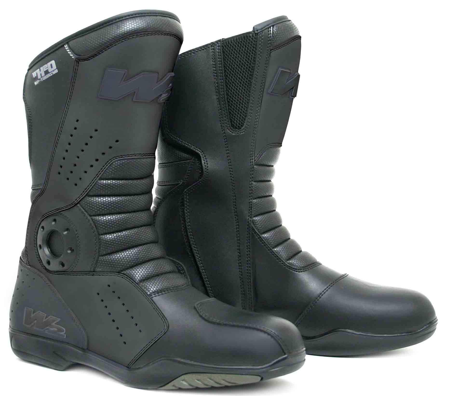 estilo de moda de 2019 zapatos exclusivos precio bajo Botas de moto de carretera W2 T-FP 100% cuero y membrana hypora   Chaquetas  de Moto