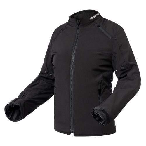 chaqueta de moto softshell para mujer