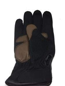 guantes moteros cuero café racer