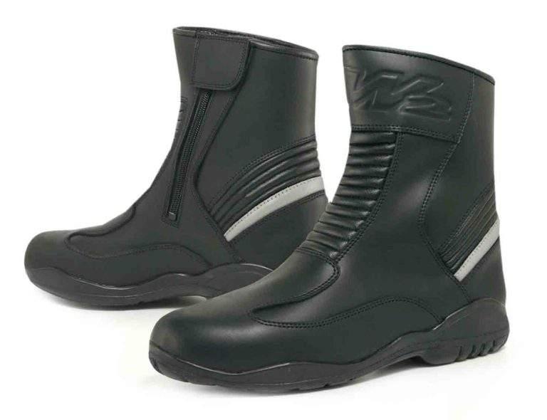 botas de moto de carretera corta