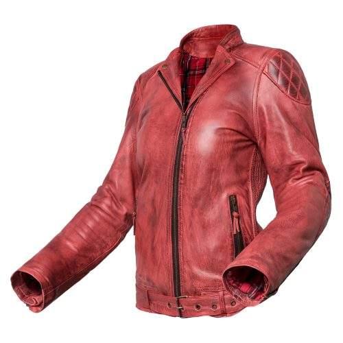 chaqueta de moto para mujer