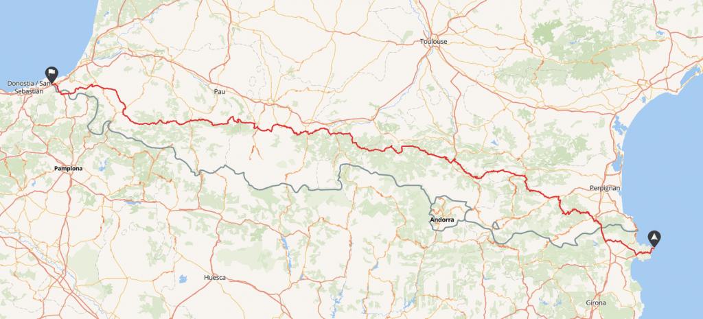 rutas moto españa pirineos