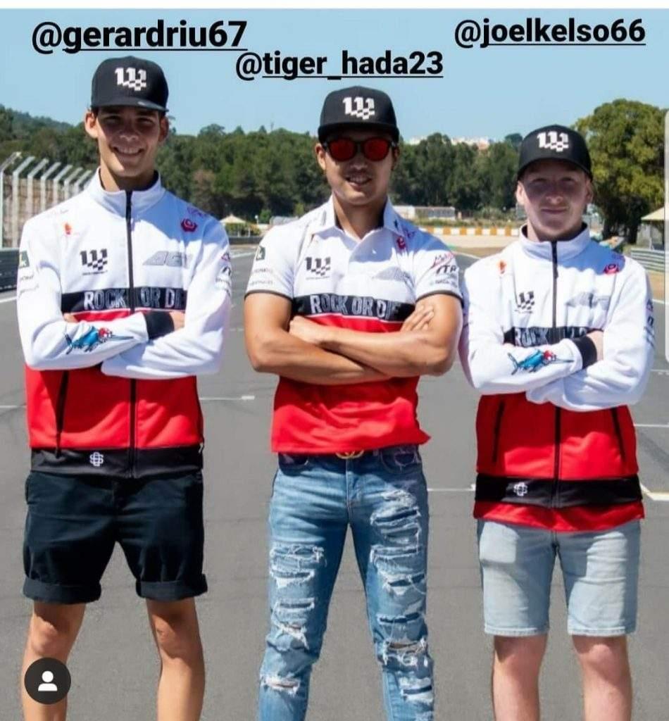 pilotos agr team