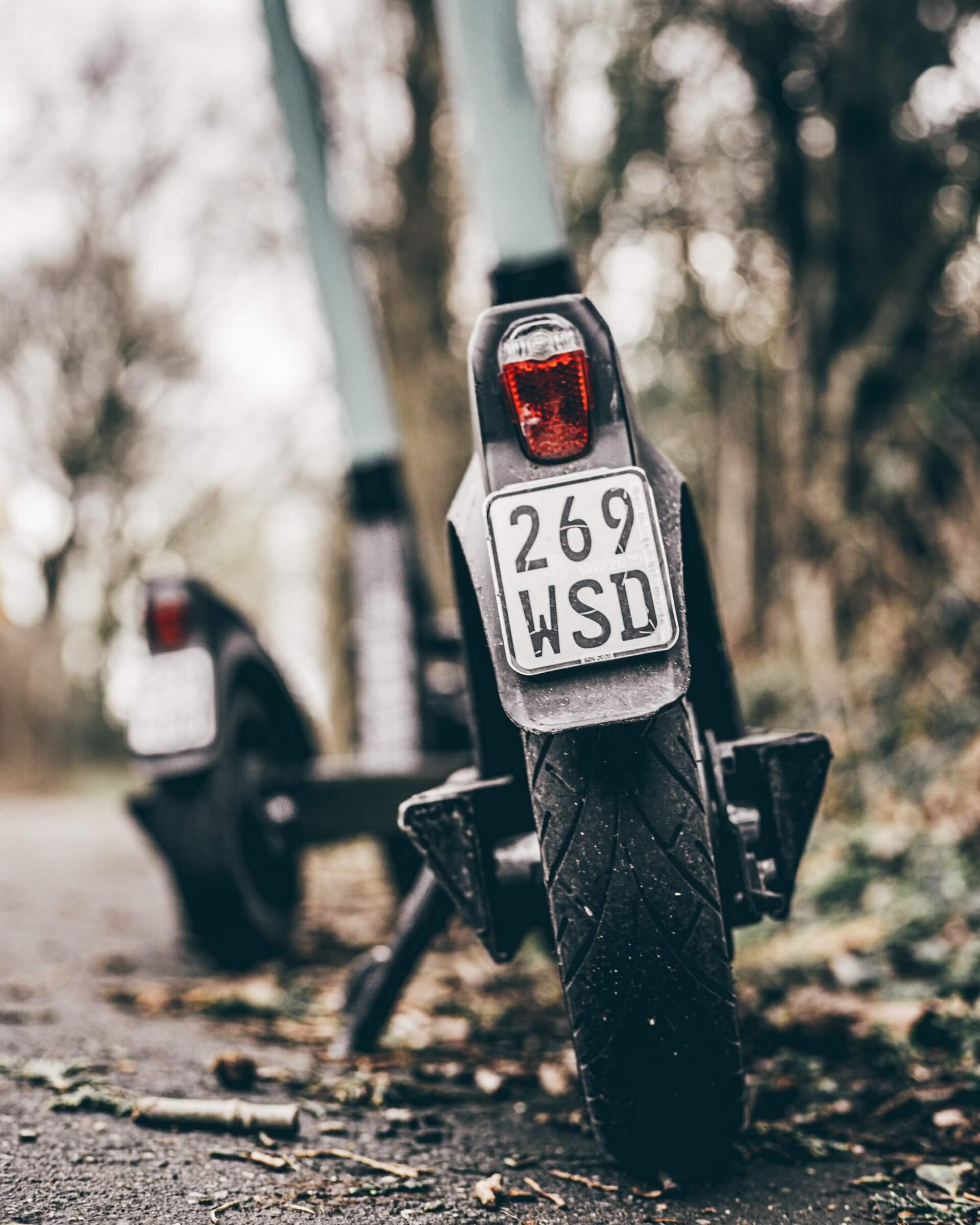 la presión de neumáticos de la moto